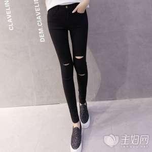 资讯【牛仔小脚裤】小脚裤百搭又显身材